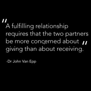 A fulfilling relationship