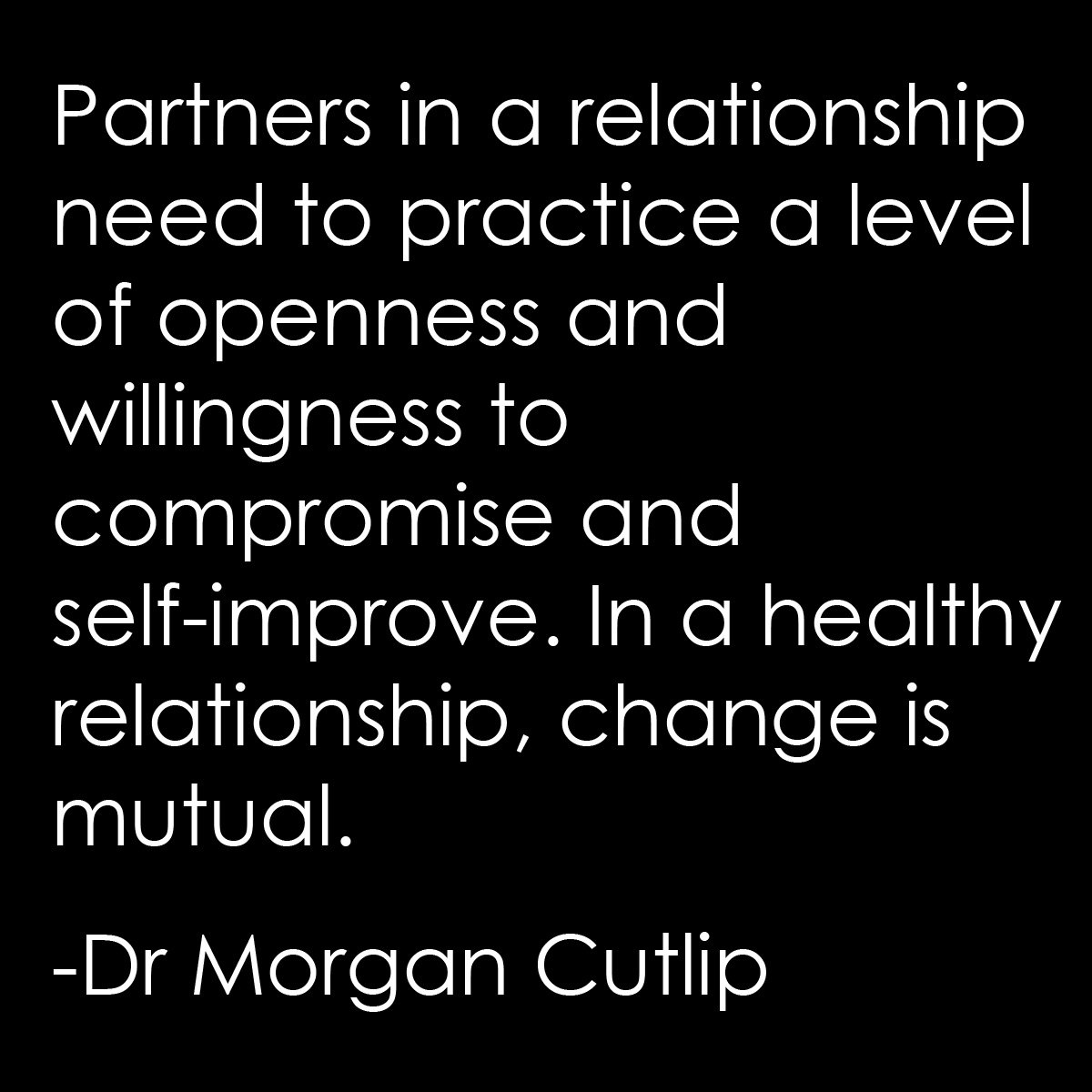 change in relationships